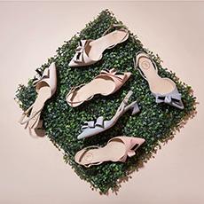 【预售】踮脚猫 百搭舒适羊皮蝴蝶结低跟凉鞋 预计7月25日发货