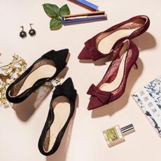 【预售】Emily 蕾丝高跟鞋 预计9月15日发货