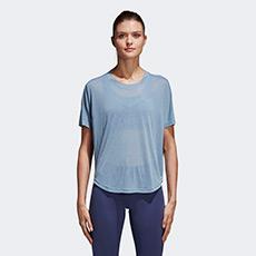女子透气训练短袖T恤 CF4446