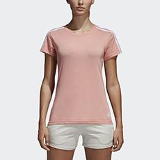 运动型格 ESS 3S SLIM TEE 女子 短袖T恤 CF8833