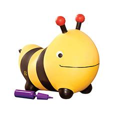 弹跳大黄蜂 充气跳跳马玩具