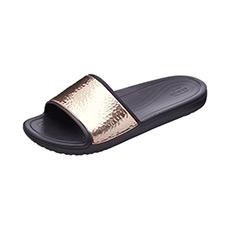 思珑时尚金属贴片沙滩凉拖鞋205135