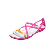 伊莎贝拉镂空束带休闲女士平底凉鞋205149