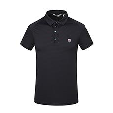 简约优雅透气舒适男士高尔夫短袖POLO衫F11M825103F