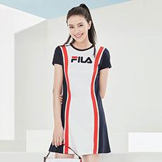 高圆圆同款简约优雅舒适亲肤女士连衣裙F11W828321F