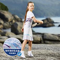时尚简洁运动女童连衣裙K12G822306