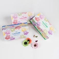 三色保湿盒裝纸巾(160抽)