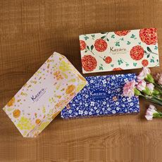 彩色盒裝紙巾(160抽)