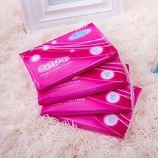 粉色保湿携带型纸巾