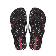 潮流系列印花女士夹脚趾沙滩拖鞋2602621555