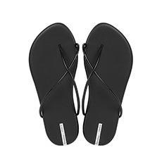 菲利普·斯塔克X系列设计师款柔软平底交叉线女士夹脚拖鞋8248624582