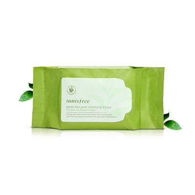 绿茶精萃清颜洁肤湿巾