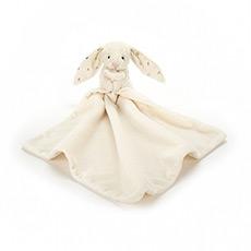 闪耀星星害羞兔安抚巾