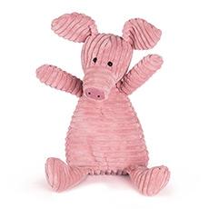 条绒小猪 粗条系列超柔软毛绒玩具小猪公仔