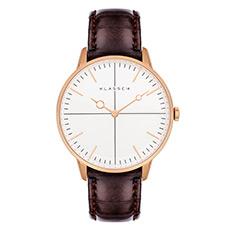 意大利设计品牌时尚鳄鱼皮带腕表玫瑰金盘休闲女士手表