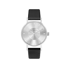 意大利设计简约时尚皮带凹陷表盘女士石英手表