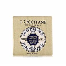 乳木果牛奶味护肤香皂