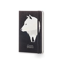 特别限量版 权力的游戏守夜人琼恩·雪诺 橫间笔记本