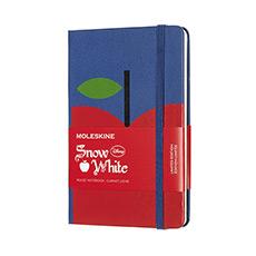 限量版白雪公主苹果硬面横间笔记本口袋型