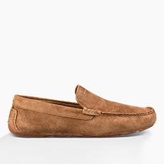 男士双鞋垫休闲乐福鞋 1013136