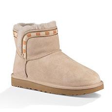 女士新款雪地靴经典新奇系列休闲迷你靴 1014611