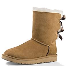 经典系列防水防污女士羊皮贝莉短靴