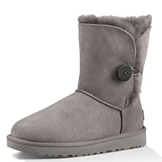 经典系列防水防污贝莉纽扣雪地靴 1016226