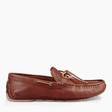 男士休闲单鞋经典透气开车鞋乐福鞋 1017318