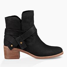 女士Elora绑带牛仔短靴 1019148