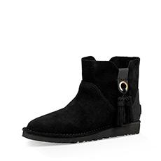女士经典靴经典无内衬系列流苏短靴 1019959