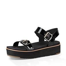 休闲一字罗马露趾女士凉鞋 1092263