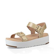 休闲一字罗马系带女士露趾凉鞋 1092264