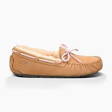 女士单鞋全羊毛内衬平底低帮豆豆鞋经典蝴蝶结款 5612
