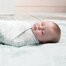 多功能竹棉抱毯婴儿襁褓包巾 闪亮系列3只装