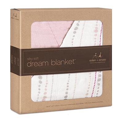 进口经典梦乡竹棉婴儿盖被 宝宝纱布透气防热毯