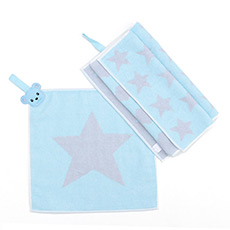 棉柔心情方巾面巾2件装AK297Y42