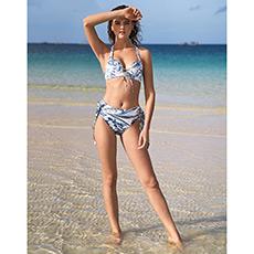 沙漠之花无托比基尼分身泳衣AM671631