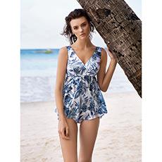 沙漠之花分身裙式泳衣AM671632