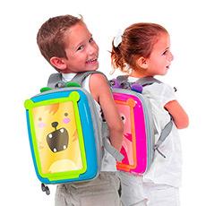 Go Vinci儿童带画板双肩背 多功能双肩背