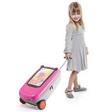 Go Vinci儿童拉杆箱画板书馆 时尚方便 多功能拉杆箱