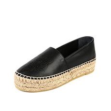 2色可选 西班牙进口 牛皮都市休闲女单鞋