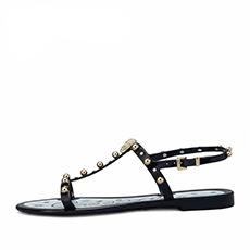 金属装饰休闲凉鞋H1AB5071E2A01