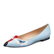 拼色平跟休闲单鞋H1ABY031A1C02