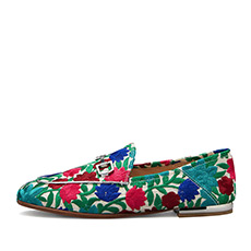 植物花卉平跟休闲单鞋H1ABY502K2K05