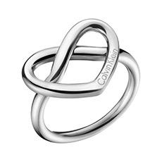 抛光316L银白色戒指心动系列