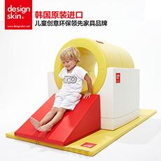 儿童游戏隧道爬梯环保进口儿童拼接创意滑梯垫