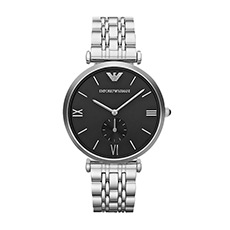 钢带石英时尚商务男士手表AR1676