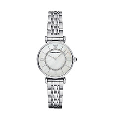 满天星手表镶钻钢带石英商务女士手表AR1908