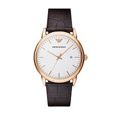 潮流欧美时尚休闲真皮带简约男士手表AR2502