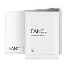 FANCL 莹亮净白精华面膜